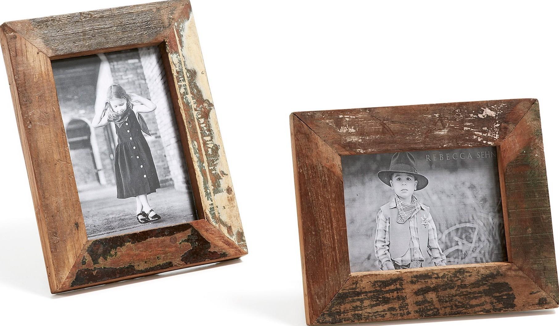 Antiken Stil Holzrahmen Bilderrahmen set 2 RUDOLF Arbeitsplatte ...