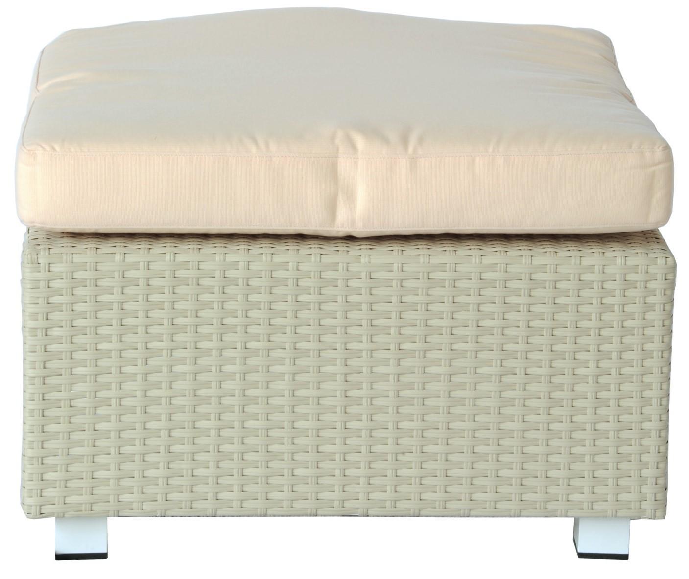 COLORADO elemento pouf quadrato 63x63 per divano componibile per ...