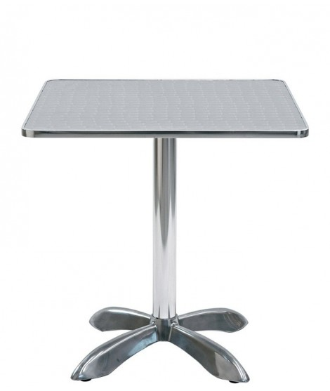 LISCA tavolo in alluminio per bar esterno residence hotel ...