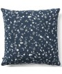 WILLOW square or rectangular cushion in removable fabric