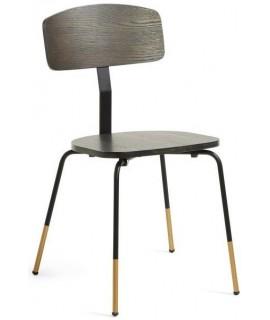 RAMSET en chaise design en bois et métal