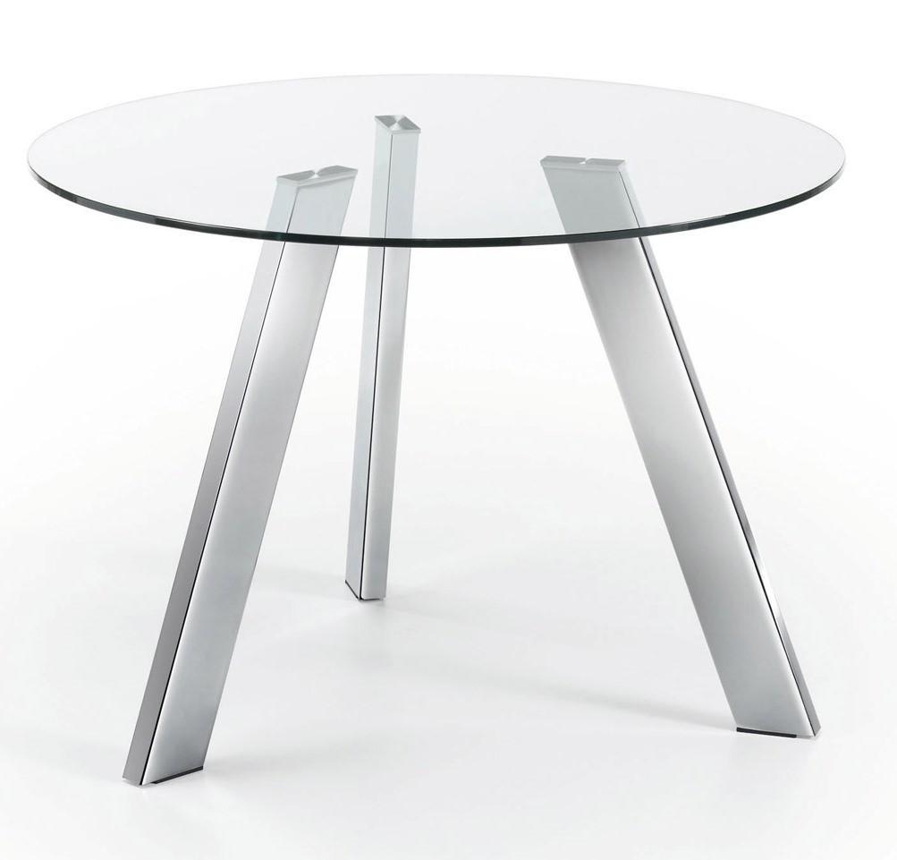 Best tavolo tondo cristallo images - Vendita tavoli bologna ...