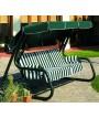 MASTER plus 4 verde metal Rock asientos pintaron a tela verde cojines para jardines y terrazas