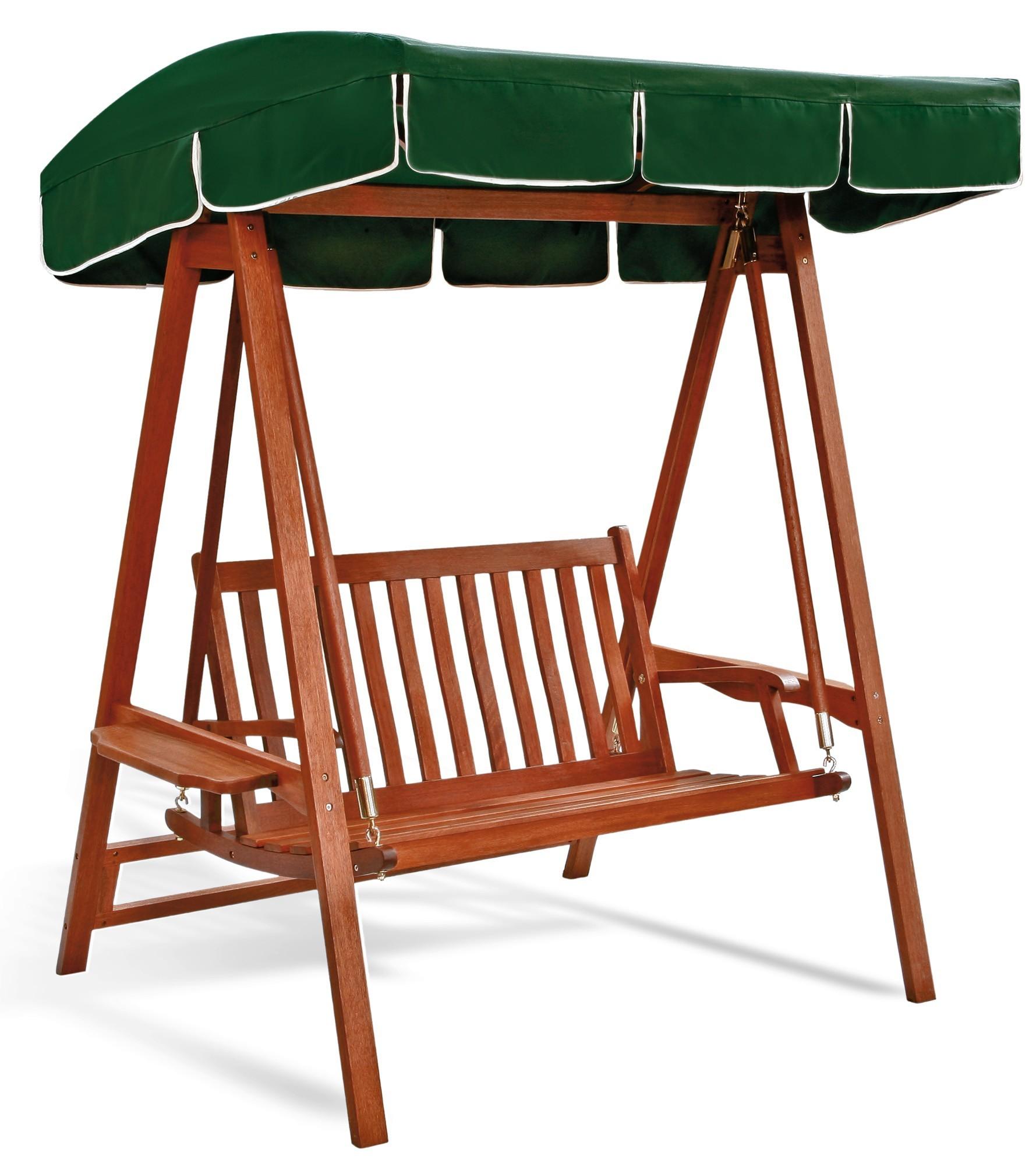 Sedie A Dondolo Per Terrazzo bella dondolo 2 posti in legno per giardini e terrazzi