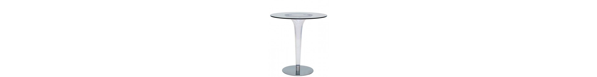Tables for a bar, restaurant, hotel, pub, disco, which make the room interesting.