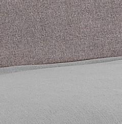 bicolore tortora e grigio chiaro
