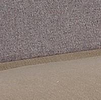 bicolore tortora e marrone